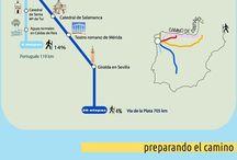 Santiago de Compostela camino