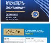 Rogaine Extra Strength for Men / Vitamins for Hair