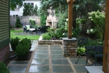 Patio and surrounds