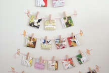 1st Day of Christmas - DIY Advent Calendar / To kick off our 12 Days of DIY Christmas we have created a DIY Advent Calendar using envelopes!