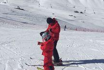 Un giorno assolato per sciare a Pescegallo
