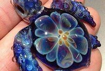 glas schildpad
