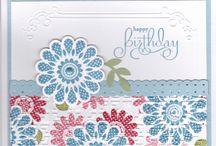 cards - polka dot pieces