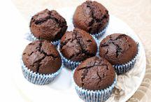 Čokoládové mufiny