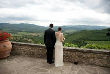 Tuscan GREEN Wedding in 2017! / 2017 Pantone is green, a perfect match with Tuscany's lush countryside shades.