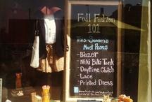 Organize our Vinnies Shops / Thrift store organization techniques, Shop Window displays