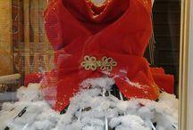ATELIER'S VITRINES / Handmade bridal vitrine, unexpected materials