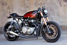 Honda CB356-R / Building a caferacer. A combination of several bikes, mainly Honda CB350, CB550, CB650 and a Suzuki GSX-R K7. Planning to build it in the next year. And year after that. And...