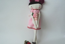 Handmade Dolls / Muñecas / by Rocio Jimenez | Casa Haus