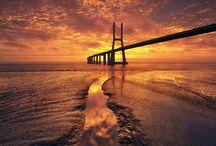 Vasco Gama-Brücke in Lissabon
