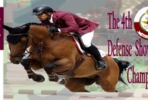 The 4th Defense Show Jumping Championship Shield 2013 / Come enjoy & be the part of the 4th Defense Show Jumping Championship Shield 2013. Qatar Equestrian Federation welcome come you with your family & friends. A great weekend of fast paced action! Don't miss it.