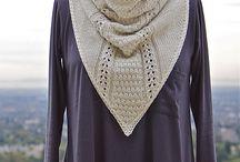 strikk sjal