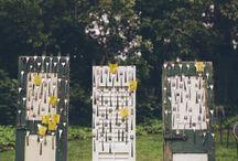 Wedding ⋮ Table seating plan ⋰ Escort Cards ☆