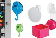 Back to School Locker Gadgets / STUDENTS: Organize your locker with FECA! We have some of the best looking, incredibly functional, trendy locker gadgets for kids that have lockers. Our suction technology is second to none, our products simply SUCK! What kid wouldn't want a few hooks for their locker, or a catch-all basket, even a suction cup mirror. Check out the perfect solution for any high-school, or Jr high school student wants... and NEEDS!