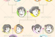genograms templates