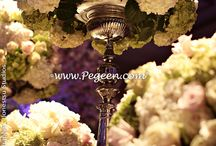 Flowers: Flora and Fauna / Beautiful floral displays and table settings by  our Pegeen brides and some doves and more! Pegeen.com is a manufacturer of flower girl dresses & boys suits - Infants to Plus Size. 200+ colors in Silk. Headquartered in Orlando FL .. 1 mile from Disney!! 407.928.2377
