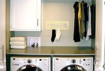 Laundry Rooms + Storage