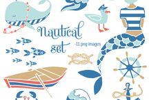 Digital Downloads & Clip Art / by Tiffany Marshall