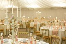 Winter Glamour / Celebrate a winter wedding in style with this luxurious wedding decor.