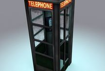 Phone Booths / Ideas for phone booths.