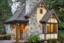 Small house exterior ideas / Exterior of small houses