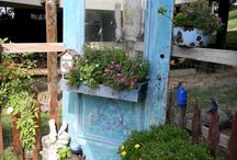 old doors and windows / by Diane Dunn