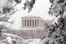 Winter in Greece / Incredible captures of #Greece during the #Winter season !  Happy Winter (Re)Pins Everyone ;-)