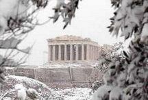 χιονισμενη ακροπολη