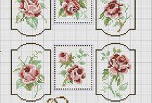 Różane krzyżyki