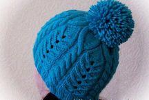 шапки шарфы митенки / вязание