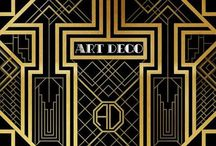Art Deco / The style of architecture, furniture, textiles, and fashion that originated in the 1920s and developed into a major movement in western Europe and the USA during the 1930s. Its name derived from the Exposition Internationale des Arts Décoratifs et Industriels Modernes, held in Paris in 1925.