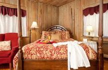Manor Rooms / Luxurious period furnishings and mountain views compliment our guestrooms in the Manor. These lovely spacious rooms also boast the building's original pecky cypress paneling and tile work. Choose from one of our three Manor House Rooms: Venice, Versailles and Florence. Ask for any of these rooms by name.