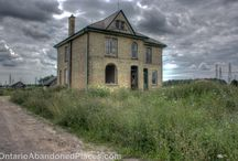 Bradley House / An abandoned house in London, Ontario - now demolished.