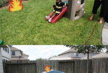 kinderfeestje - brandweer