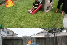 Brandweer feestje