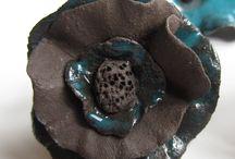 céramique fleur