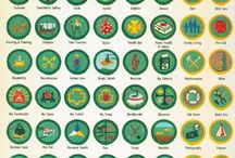 Badges and scouts