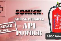 Tabung Pemadam Api Powder Sonick / Tabung Pemadam Api Powder Sonick 3 Kg merupakan kombinasi dari bahan kimia fosfat Mono-amonium dan ammonium sulphate.  HP : 081-2222 91986 Email : pujianto@tabungpemadamapi.com