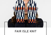 FAIR ISLE by KIT COUTURE