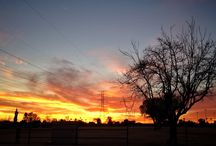 Sunsets / Photos of sunsets taken in Mesa, Arizona
