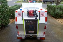CFA Sponsored Kids Fire Truck / Same Day Printing sponsored a Fire Truck for local community event and awareness campaigns.