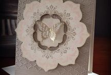 Daydream Medallions- Stampin' Up! / Projects made with the gorgeous Daydream Medallion set from Stampin' Up! And using the floral frames framelits which co- ordinate beautifully with this set