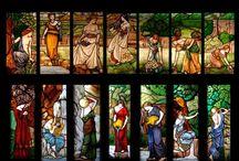 vetrate artistiche / immagini di vetrate artistiche