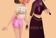 Rose and Juleka