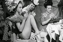Vintage Fashion Backstage
