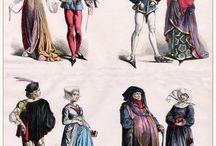 XV century dress Burgundian