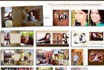 Graduation Templates / Custom Graduation Templates - Photoshop .psd files -