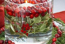 Decorating With Cranberries / Innovative ways to incorporate cranberries into your tablescapes, floral arrangements and more.