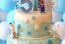 gâteau reine des neiges 4 ans