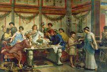 La cocina romana / Particularidades de la cocina romana